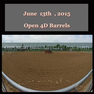Open 4D Barrels