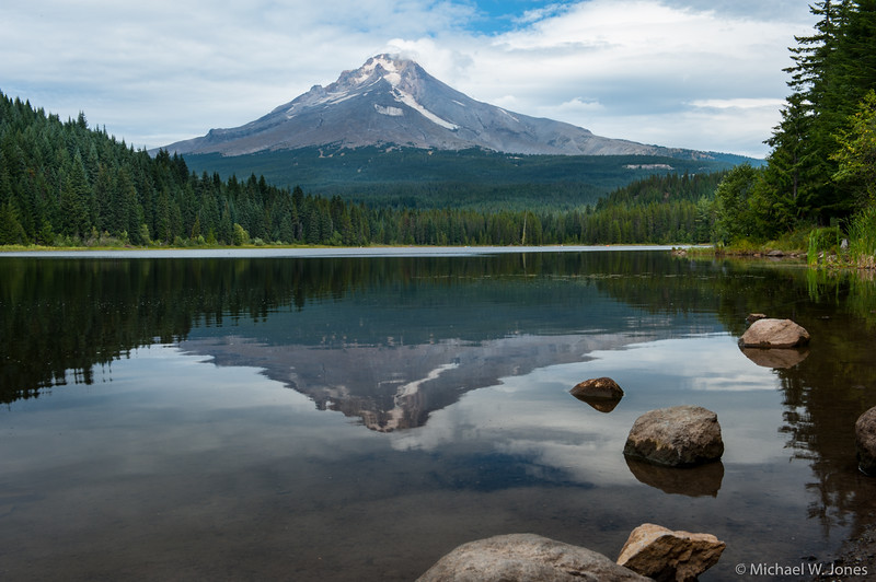 Trillium Lake with Mt. Hood, OR