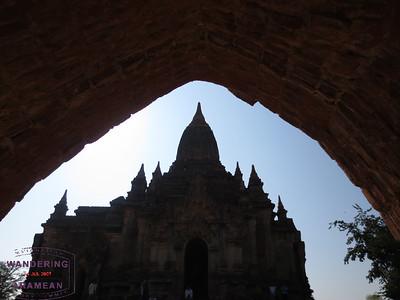 The temples of Bagan, Burma