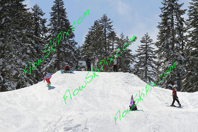 4/1/12 Easy Rider Large Terrain Park Jumps