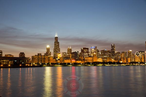 City of Chicago Skyline Views 2016