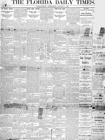 History of The Florida Times-Union