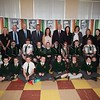 Deputy First Minister Martin McGuinness is pictured during a visit to St patrick's PS Newry to view the History Hub the Primary 7 class have created in their Classroom. R1617017