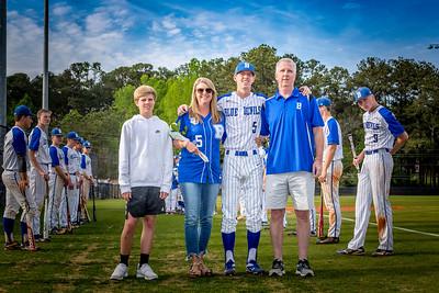2019 BHS Baseball Senior Night