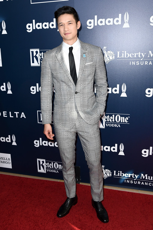 . Harry Shum Jr attends the 28th Annual GLAAD Media Awards at the Beverly Hilton Hotel on Saturday, April 1, 2017, in Beverly Hills, Calif. (Photo by Richard Shotwell/Invision/AP)