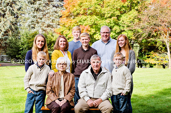 Hull & Bigelow Family Portraits