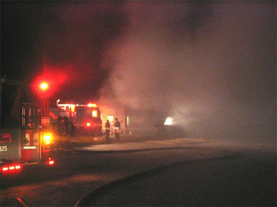 May 5, 2005 - Working Fire - 100 Unwin Ave.