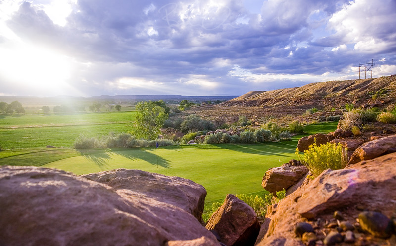 Roosevelt Golf Course Photography