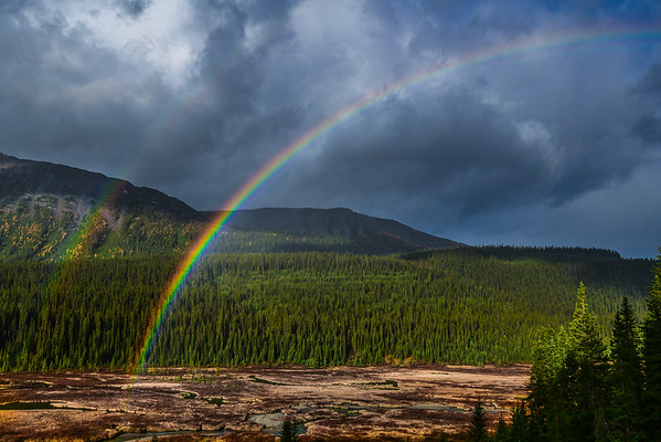 9-27-16 *^Rainbow - Kananaskis Country