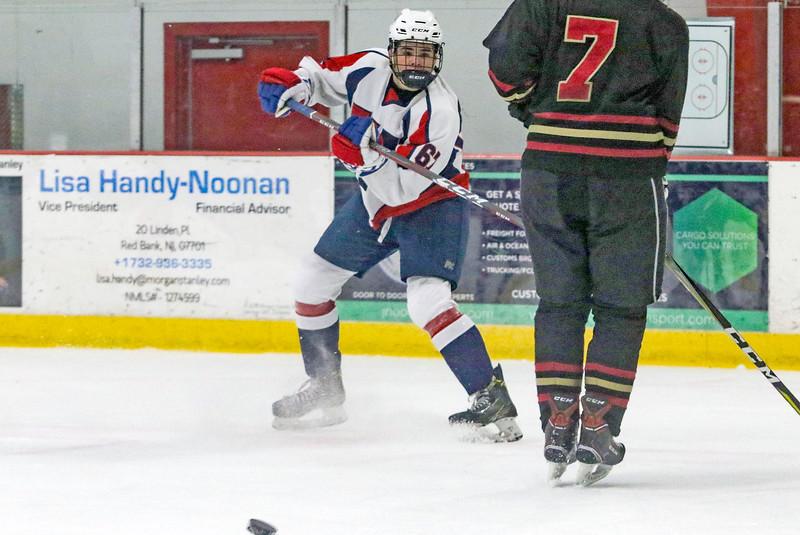 no.67, Michael KocsisWall v/s Hillsborough hockey in Wall, NJ on 1/4/19.[DANIELLA HEMINGHAUS | THE COAST STAR]