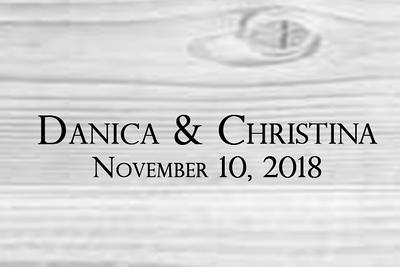 Danica & Christina 11.10.18