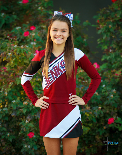 2013 Jenks 6th Grade Cheerleaders