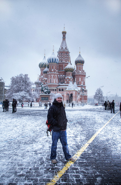 Self-portrait. Moscow, Russia. (HDR)