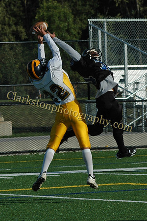 Clarkston Freshman Football vs Royal Oak