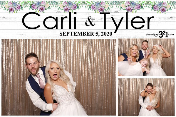 Carli and Tyler Wedding Sep 6, 2020