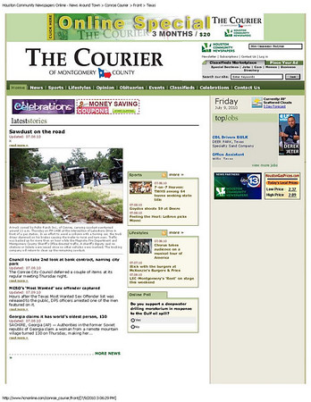 Conroe Courier 7/8/2010