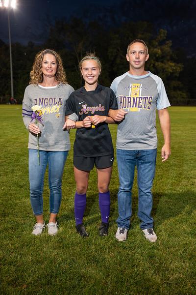 2021-09-27 Girls Soccer Senior Night