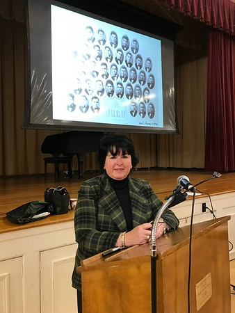 "Book Presentation by Adrienne Alexanian, ""Forced into Genocide,"" March 18, 2018"