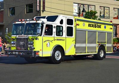 Parade - Tunxis Hose Co. - Farmington, CT - 7/10/21