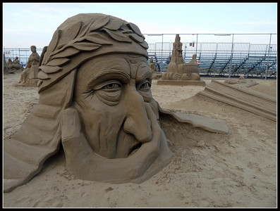 Cervia: Beach and Sand Sculptures