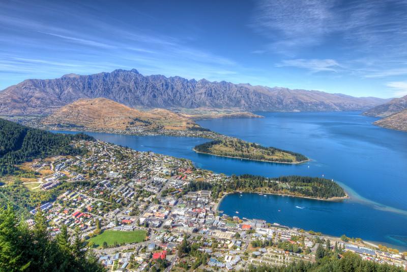 Lake Wakitipu & Queenstown