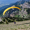 20100725_WYOMING_Paraglider Over Jackson Hole Wyoming Mountains-Edit