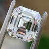 2.23ct Vintage Asscher Cut Diamond GIA G VS1 4