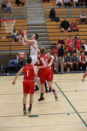 2017_02_14 Boys Varsity BB LCC 42 vs CCA 51