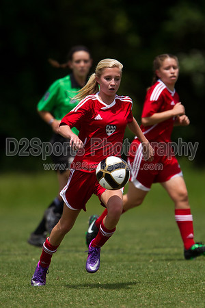 97 FVAA Flames Red G vs 97 Lady Twins White G 5/5/2012