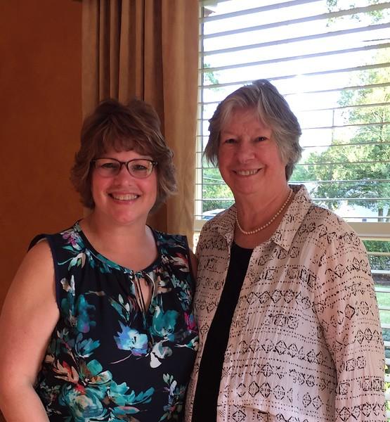 Aunt Lou and Fran  - a visit to Cincinnati - September 10, 2017