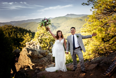 Emma & Bradley at Mount Falcon