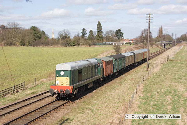 2010, 27th March,  Great Central Railway, 1960s Gala