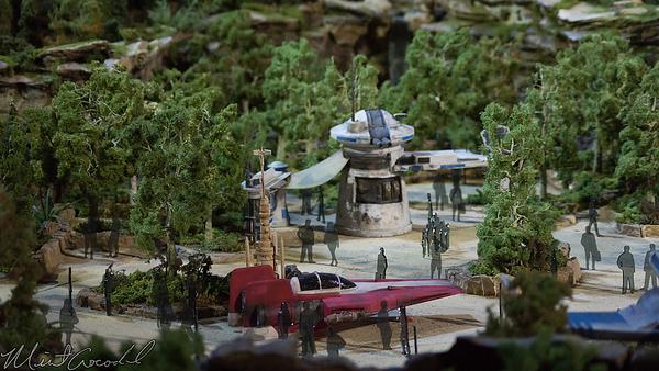 Disneyland Resort, Disneyland, Star Wars, Star Wars Land, Star Wars Galaxy Edge, Galaxy, Edge, D23, D23 Expo, D23 Expo 2017, Imagineering, Imagineer, Model, Display