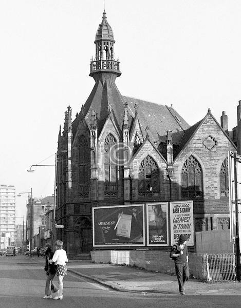 Ballater St at Hospital St.    September 1973