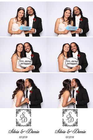 Silvia and Darrin (SkinGlow Booth)