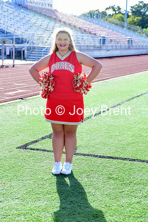 LHS 7th/8th Grade Cheerleaders  9-12-18
