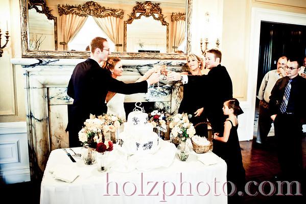 Julia and Justin Creative Wedding Photos