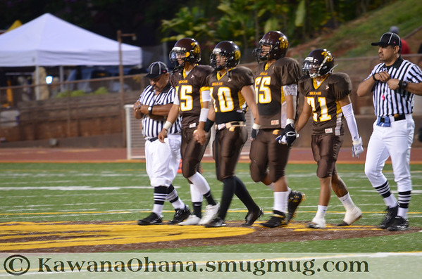 VFB Mililani vs Pac5 2012 part 1