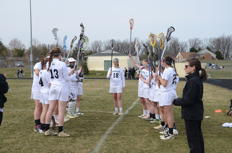 Girls Varsity Lacrosse April 4 vs Aberdeen