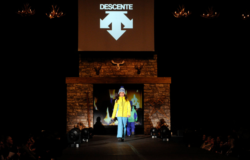 Description of . Descente gear for kids, as the SIA Snow Show hosted its 2013 Snow Fashion & Trends Show at the Colorado Convention Center  in downtown Denver  on Wednesday, January 30, 2013.  (Photo By Cyrus McCrimmon / The Denver Post)