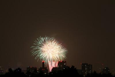 Boston fireworks July 4, 2012