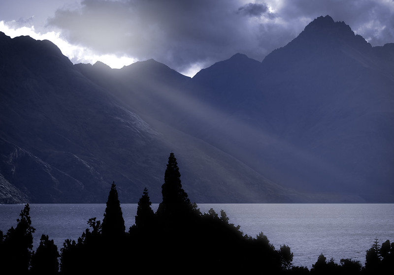 South Island Silhouette