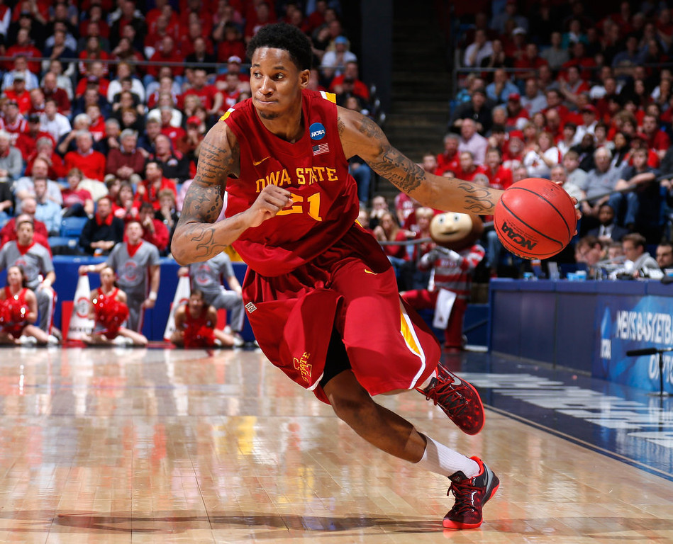 . Will Clyburn #21 of the Iowa State Cyclones handles the ball against the Ohio State Buckeyes in the second half during the third round of the 2013 NCAA Men\'s Basketball Tournament at UD Arena on March 24, 2013 in Dayton, Ohio.  (Photo by Joe Robbins/Getty Images)