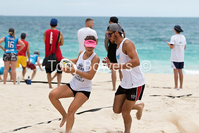 Beach Touch Rugby 2016