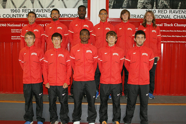 2014 Men's Cross Country Team