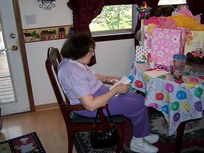 Grandma's 77th Birthday