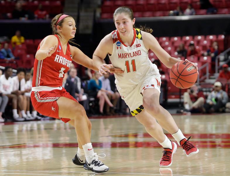 2019 Women's NCAA Tournament: Maryland vs Radford