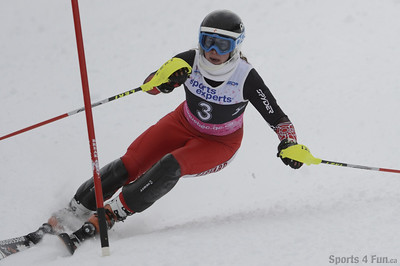 December 23th, 2012 - Slalom, Ladies CAN - QC - Mt-Gabriel