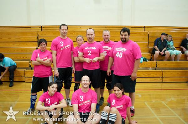 Recesstime Portland Thurs Dodgeball FA2013