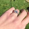 2.50ctw Emerald Cut Diamond 3-stone Ring, GIA E VS1 11